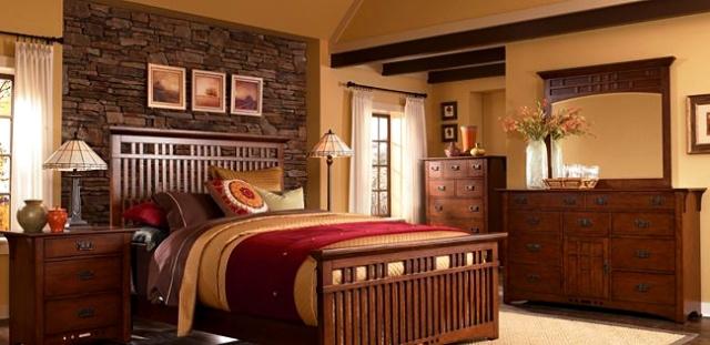 craftsman furniture. image credit schrocks of walnut creek. grove,